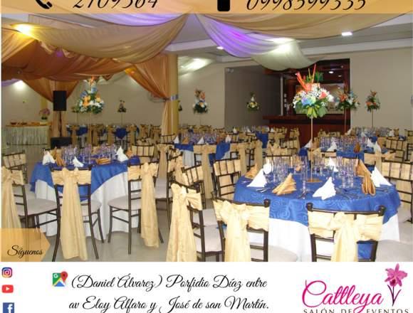 Cattleya salón de eventos  y  matrimonios en Loja