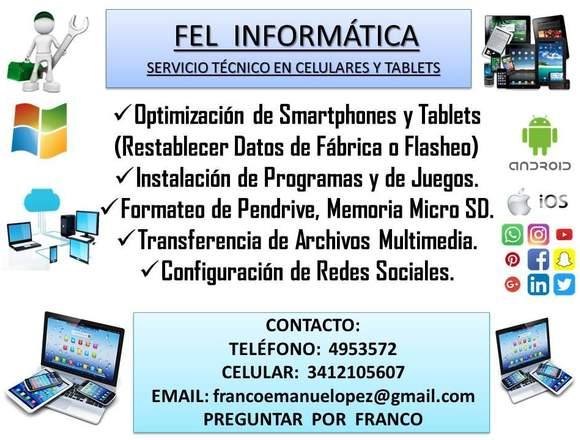 FEL INFORMÁTICA - Técnico en Celulares y Tablets