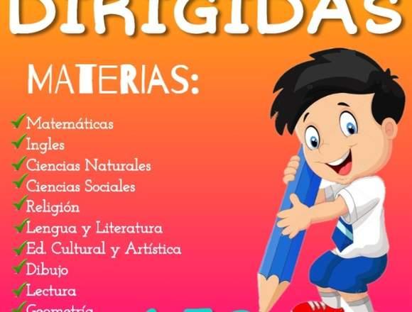TAREAS DIRIGIDAS EN TU BARRIO