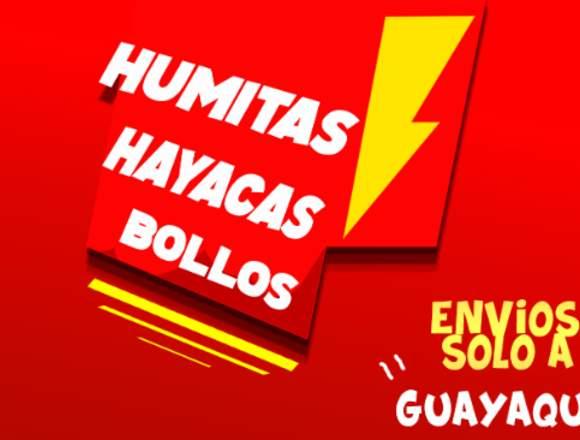 Humas , Hayacas , Bollos