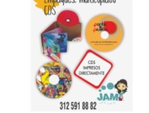 cds y multicopiado e impresion sobre cd