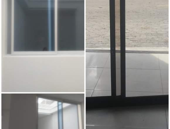 Vidrieria sanandres .  en aluminio y vidrio