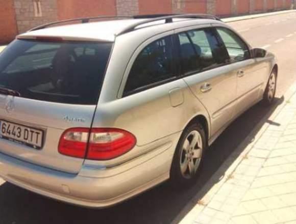 Se vende por motivo de viaje Mercedes E 280