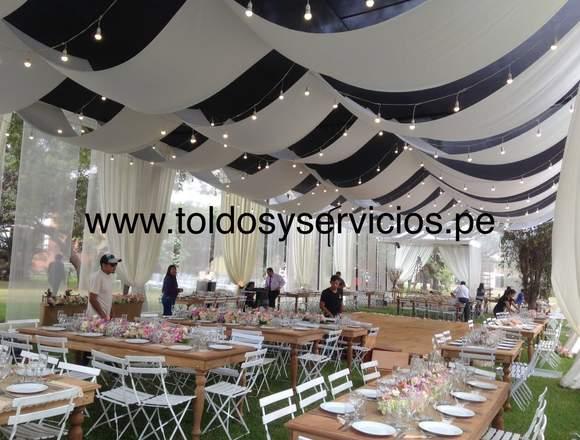 TOLDOS Y SERVICIOS PARA EVENTOS