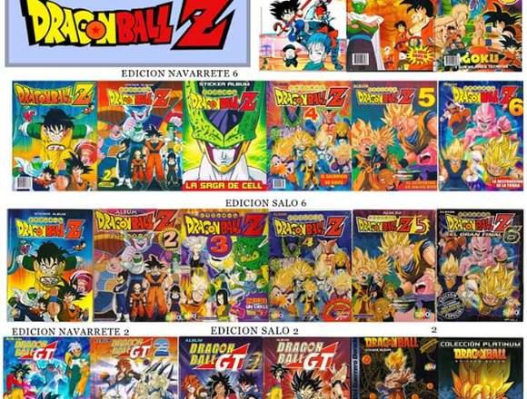 Colección Digital PDF Albumes Dragon Ball Z