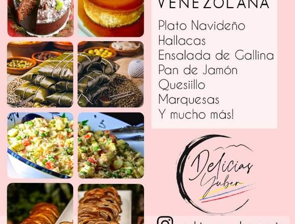 Comida Venezolana Navideña