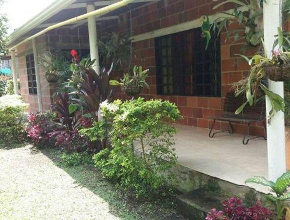 se vende casa lote en zona rural