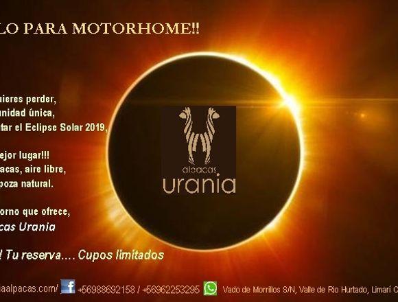 Vive Eclipse Solar 2019 en tu Motorhome