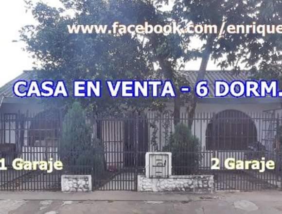 CASA 6 DORM. EN VENTA – AV. VIRGEN DE COTOCA!