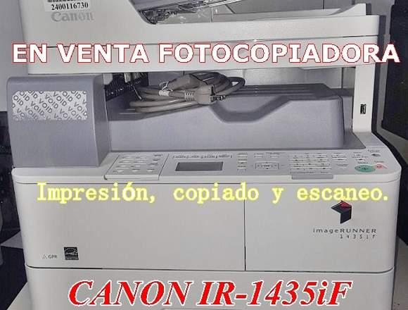 VENDO NUEVITA FOTOCOPIADORA CANON MULTIFUNCIONAL!!