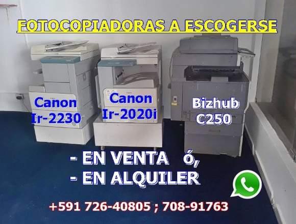 VENTA Y SERVICIOS TÉCNICOS DE FOTOCOPIADORAS