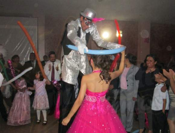 Zanqueros: Show, XV años, Bodas, Fiestas