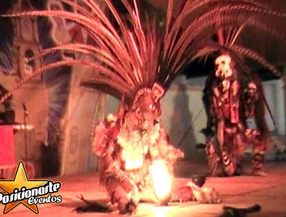 Show de Danza Folclórica Mexicana y Danza Azteca