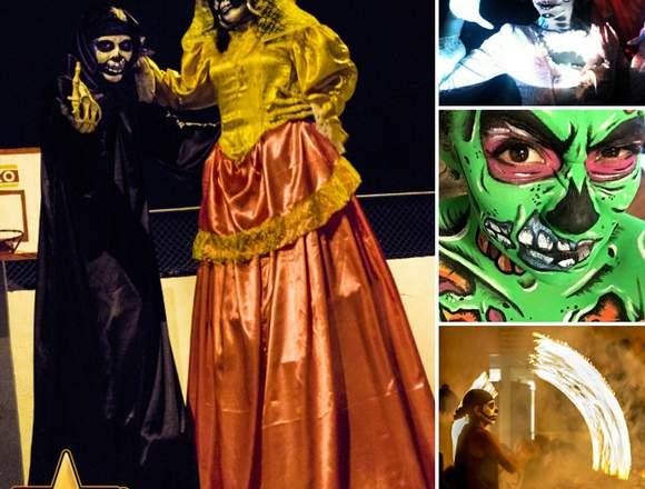 Animación para Halloween: Shows performance