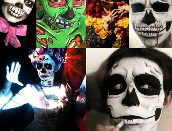 Maquillaje Body paint para tu Halloween