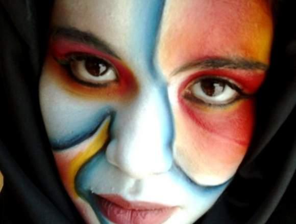 Body paint / Maquillaje de fantasía