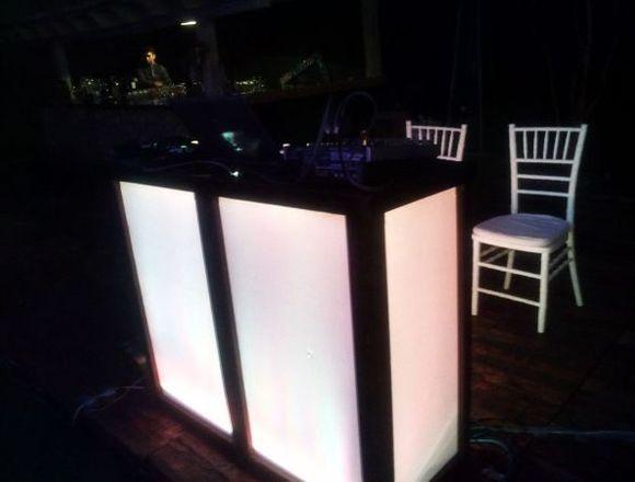 Dj, Luz y sonido, audio, iluminación & karaoke