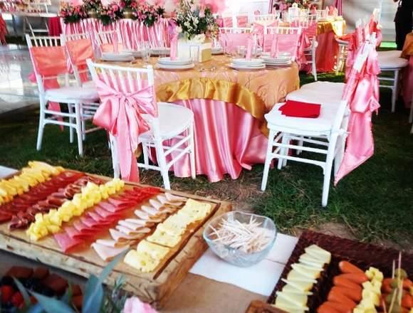 Banquetes y Alquiler para eventos