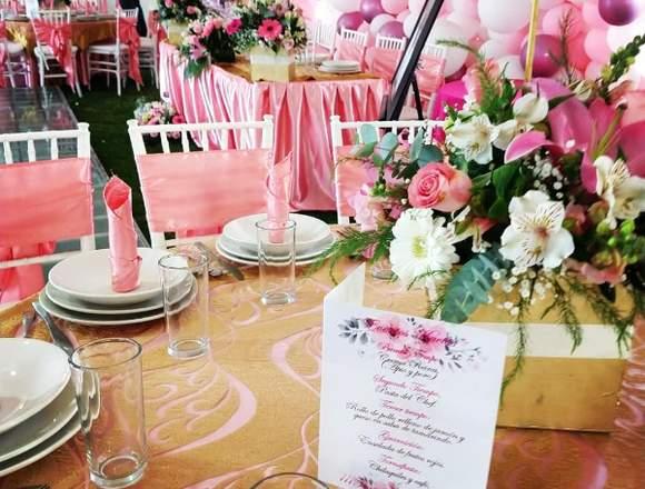 Banquetes y Eventos a domicilio
