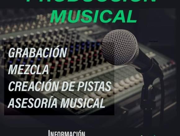 Producción musical y grabación de audio