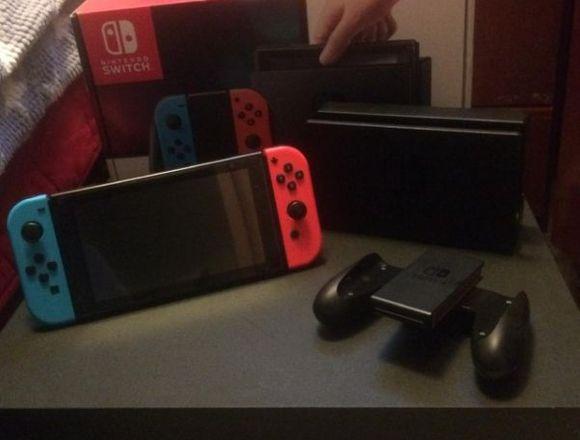 Nintendo Switch (Baneada)