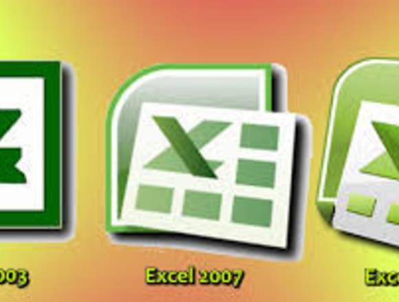 Excel para principiantes a domicilio