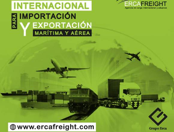 TRANSPORTE INTERNACIONAL PARA IMPORTACIÓN Y EXPOR