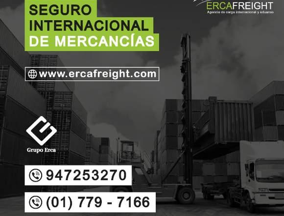 SEGURO INTERNACIONAL DE MERCANCÍAS - ERCA FREIGHT