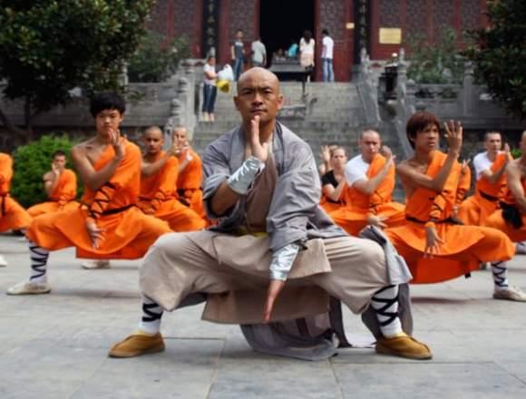 Kung fu Shaolin en centro Daxue