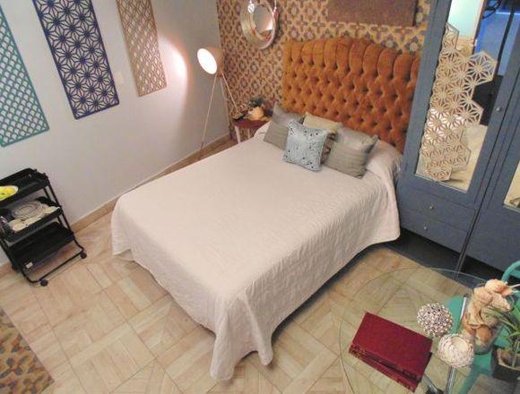 Habitaciones sencillas, amuebladas, baño y cocina