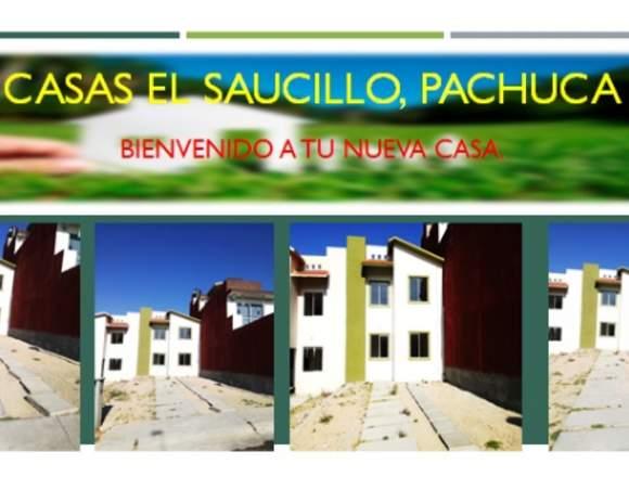 CASA EN PACHUCA PRIVADA FOVISSSTE INFONAVIT ETC