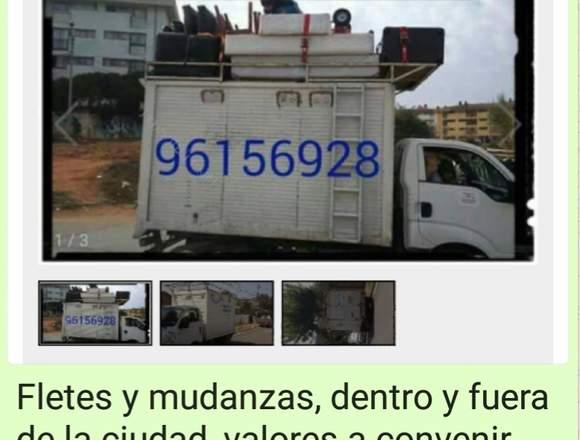 Fletes,  Mudanzas, transportes en general.