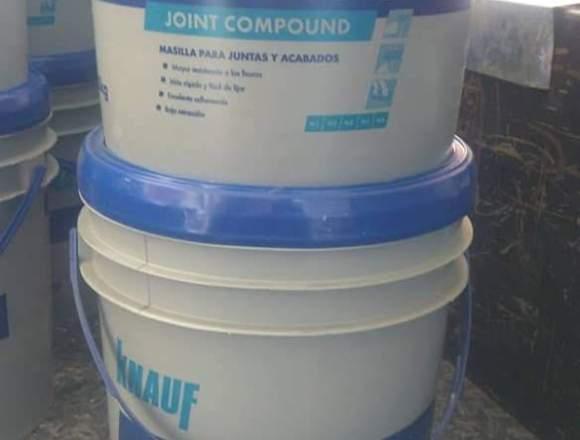Mastique Para Drywall Cuñete Knauf