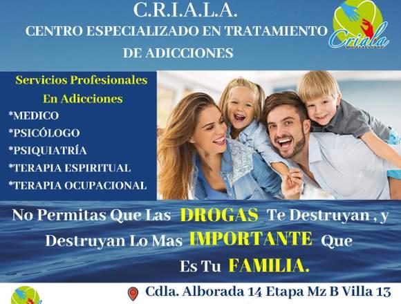 Centro De Adicciones C.R.I.A.L.A.
