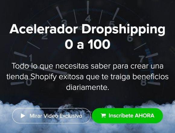 Dropshipping de 0 a 100 (Ojo leer la descripción)