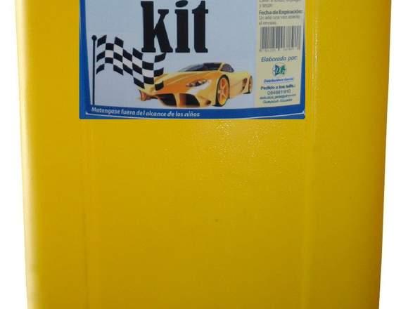 Shampoo para Auto AUTO KIT Marca Dg Galón
