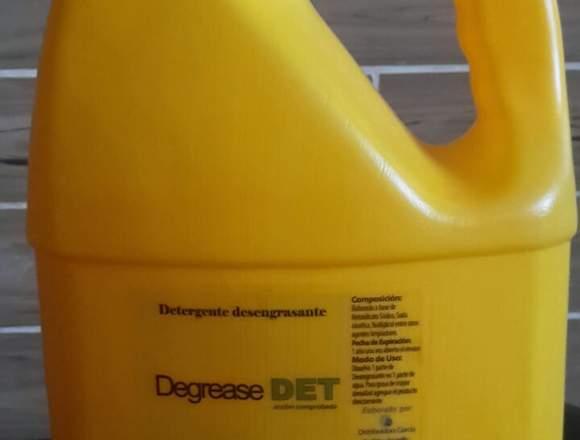 Desengrasante Industrial DEGREASE DET  Dg Galón