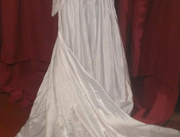 Vendo Precioso Vestido de Novia Nuevo. ¡Elegante!.