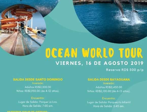 OCEAN WORLD TOUR 2019