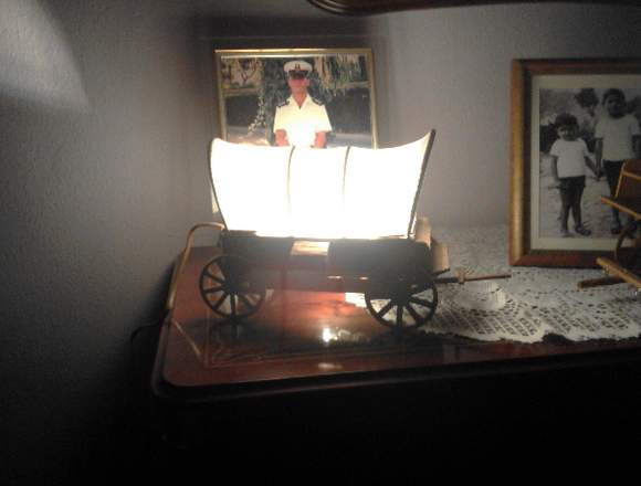 carretas del oeste lampara