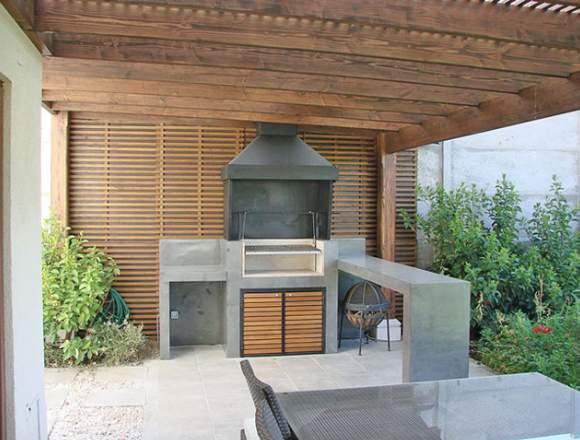 Diseño y Construcción de quinchos