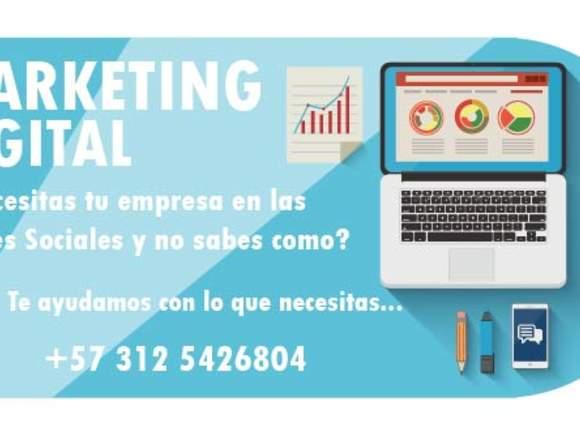 Servicio de Marketing Digital Redes Sociales-Venta