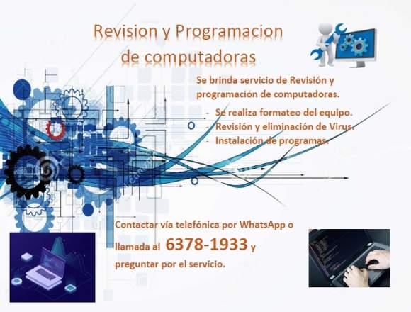 Programación y Revisión de computadores