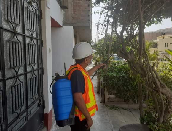Fumigacion-Desratizacion Limpieza de Cisternas
