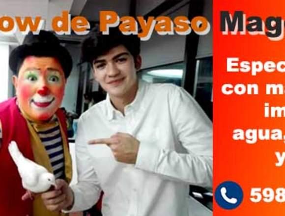 Show de Payaso Mago en Guatemala