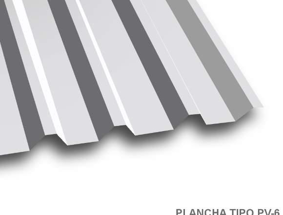 Planchas de acero Zincalum y Prepintado