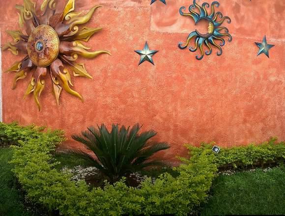 Preciosa casa en renta, Jardines de la Paz