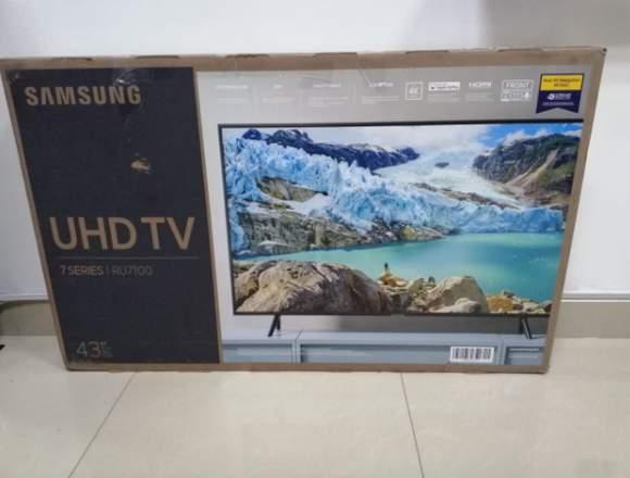 Tv Samsung Modelo 2019 Ru7100 43 Pulgadas