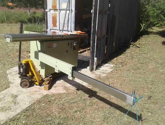 Vendo nueva máquina de carpinteria banco de sierra