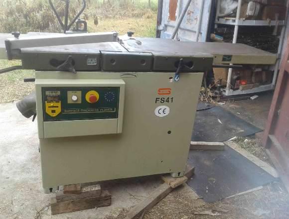 máquina de carpinteria Cepilladora-gruesadora
